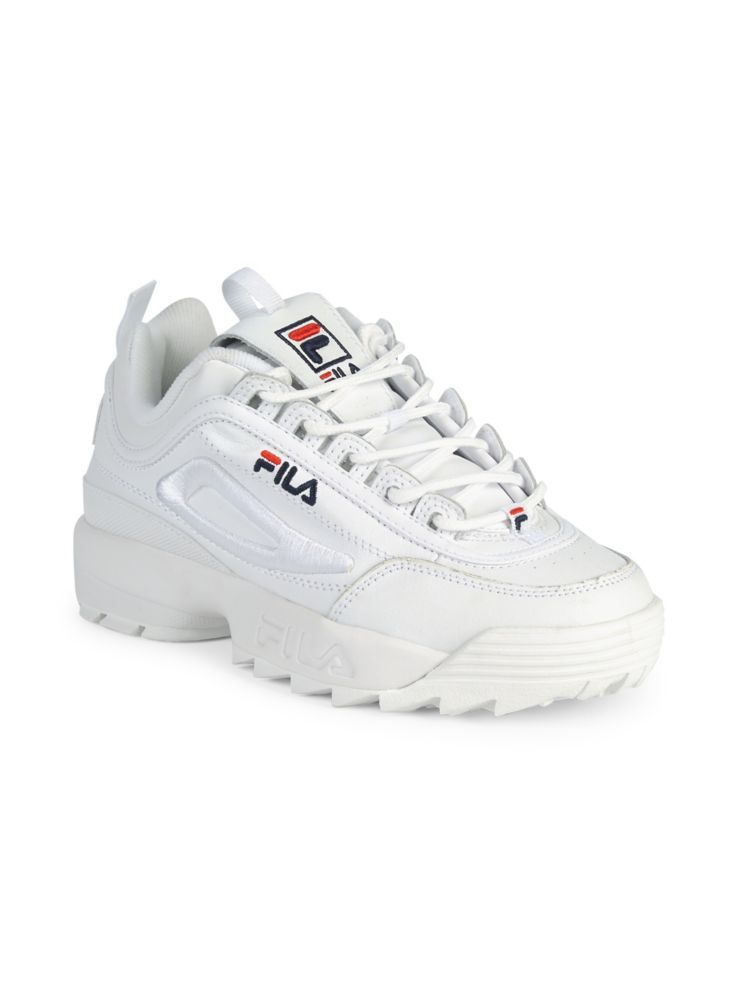 FILA Disruptor II 3D Embroidered Sneakers lordandtaylor