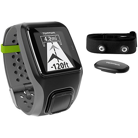 442e037b2fbaf Buy TomTom Multi-Sport HRM GPS Watch Online at johnlewis.com ...