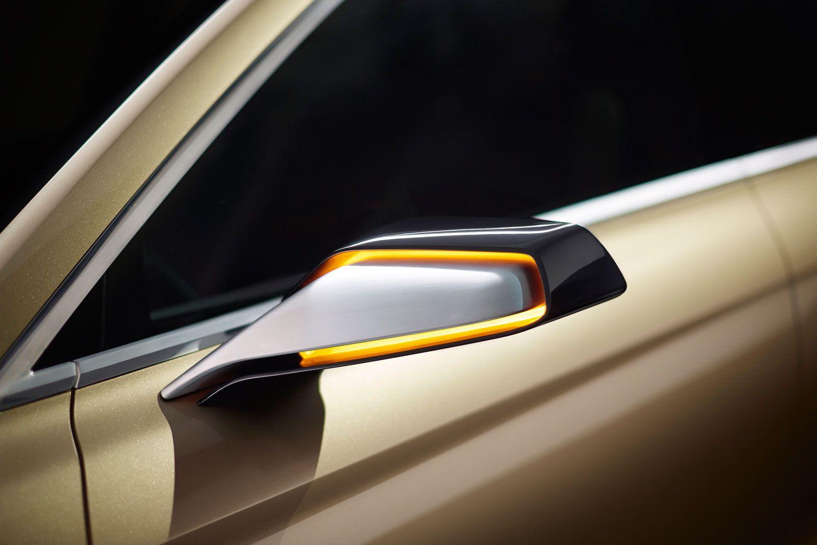 Lincoln mkx concept side mirror