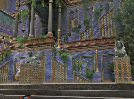 Palace of Nebuchadnezzar in Babylon, | Middle East Empires ...