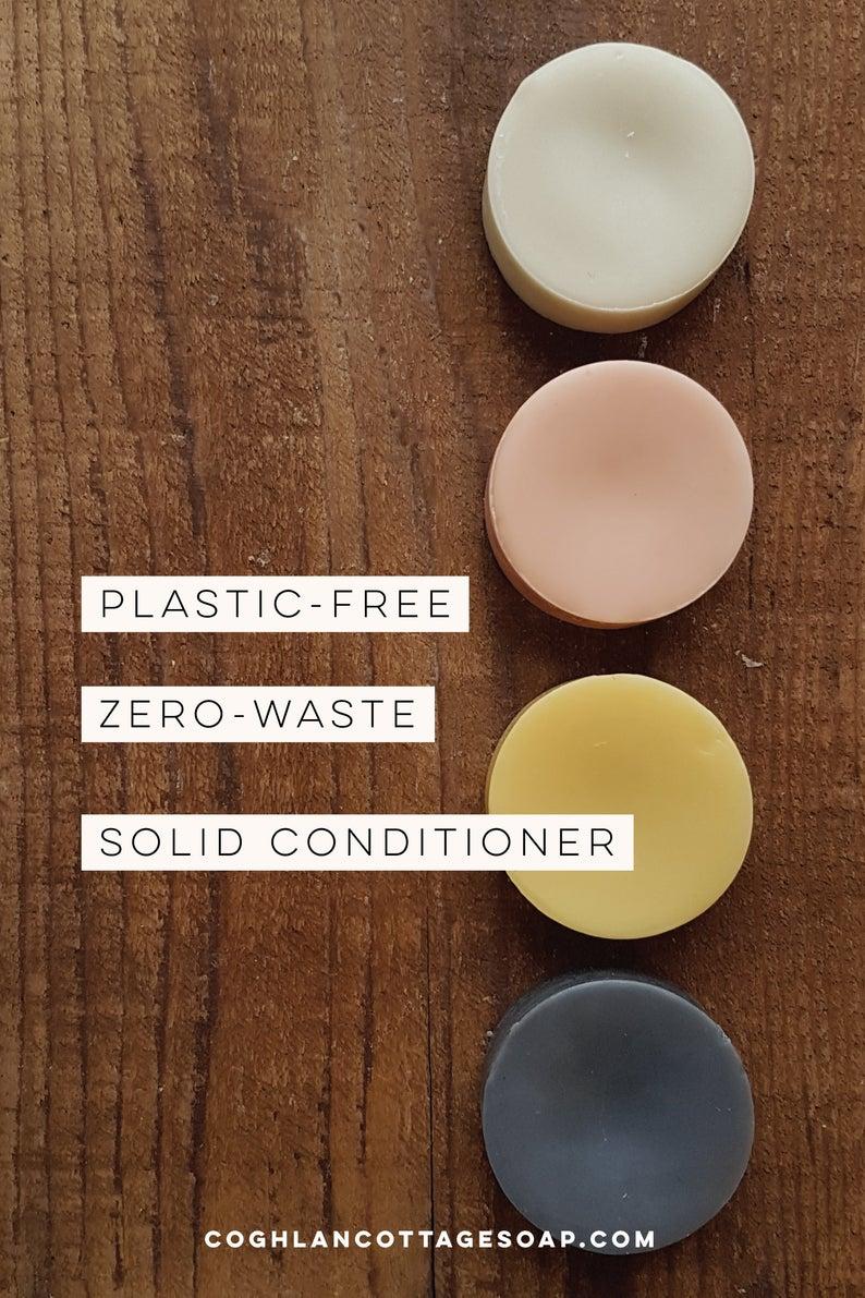VEGAN SOLID CONDITIONER Lemon Cream Solid Conditioner