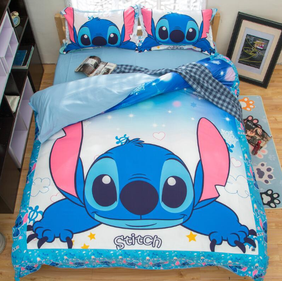 Lilo And Stitch Bedding Set Duvet Bedding Sets King Bed Covers