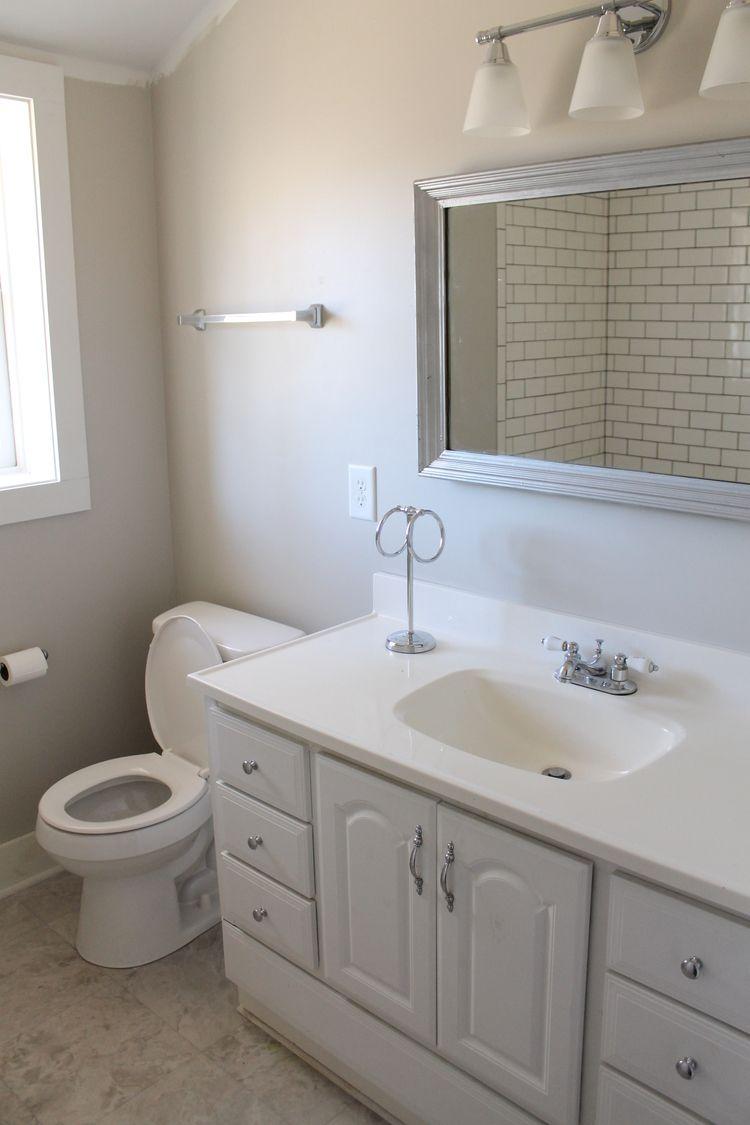 Guest Bath Before After Elizabeth Burns Design Raleigh Nc