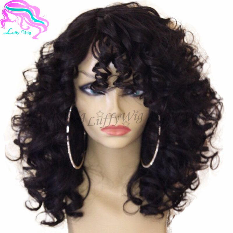8a Short Curly Bob Wigs Virgin Brazilian Human Hair Full Lace Bob Wigs For Aferican American Gluel Hair Styles Human Hair Ponytail Extensions Curly Hair Styles