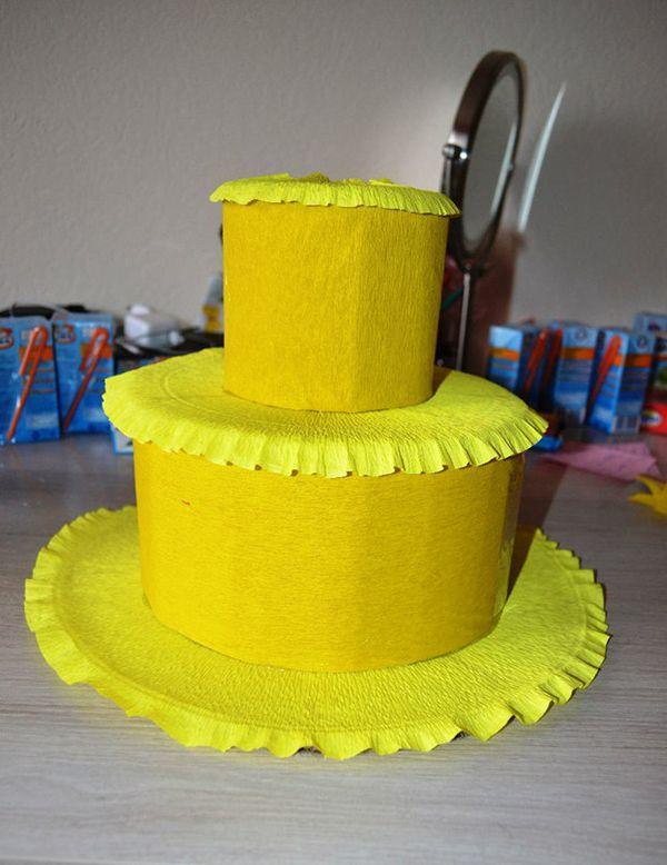 Как сделать детский торт из сока в детский сад, на День Рождения? 38