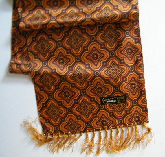 1c5d9b70e5a Grosvenor by TOOTAL scarf Vintage Scooter scarf retro men's scarf ...