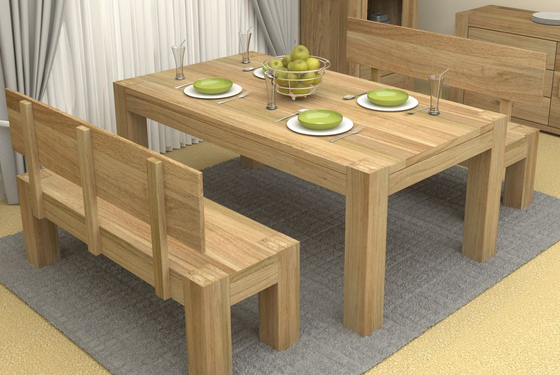 Types And Styles Of Dining Room Tables That Will Fall In Love With Oak Dining Room Rustic Oak Dining Table Oak Dining Table