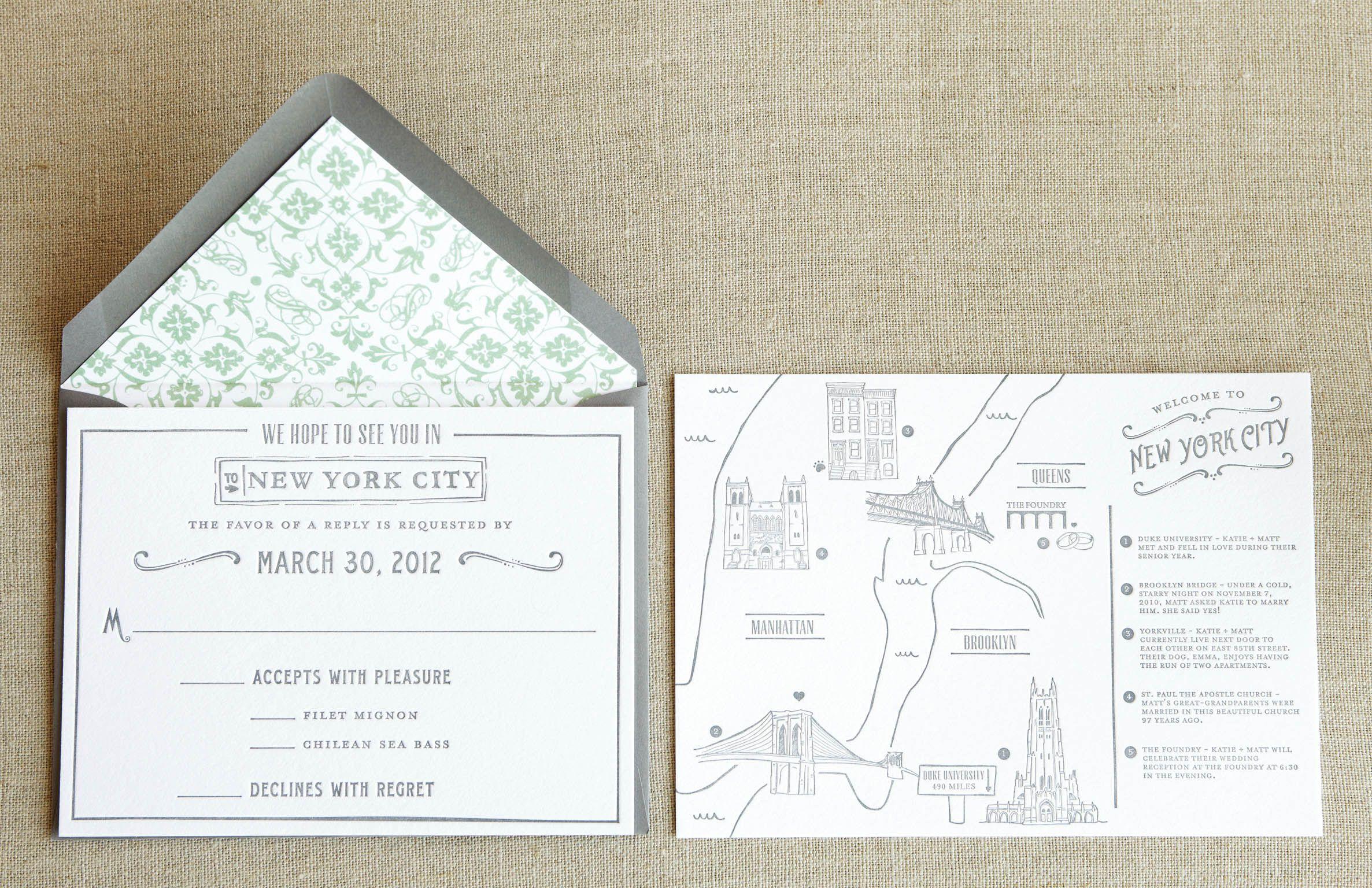 Foundry wedding graphic design stationery pinterest