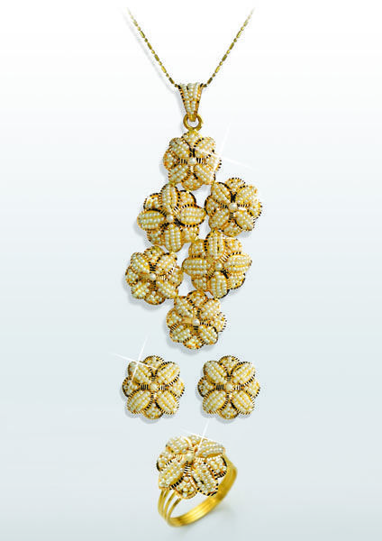 d06abfa116 bahraini #pearl #set #liali #jewellery #dubai   Office wear   24k ...