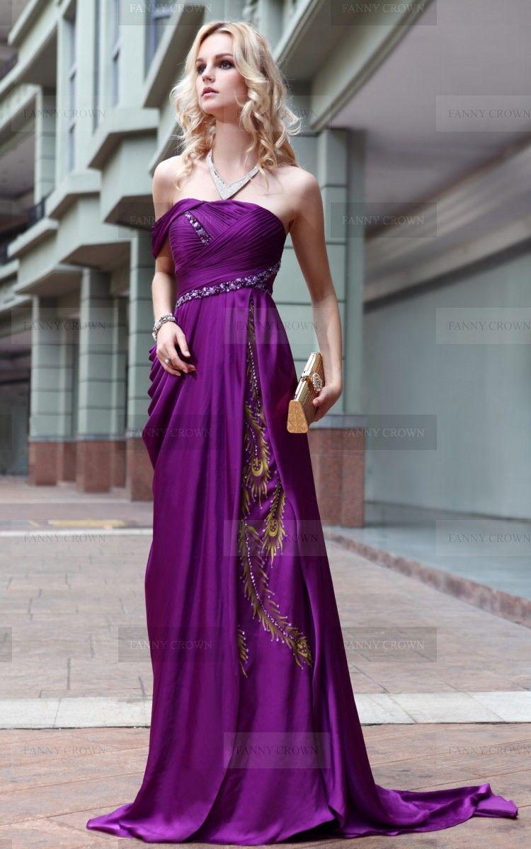Charming Off-the-shoulder Long Designer Dress #promdresses  Lila