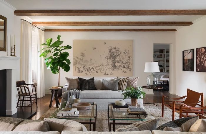 Photo of Definitive Proof That Gray Living Rooms Make a Striking Statement