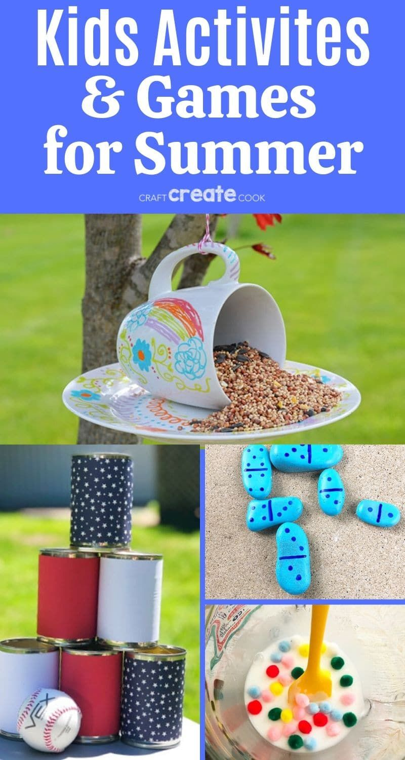 Photo of 35 Great Summer Crafts for Kids – Craft Create Cook