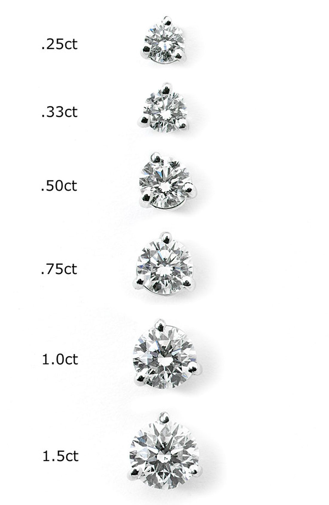 diamond kwiat tw style pin platinum stud my earrings nordstrom