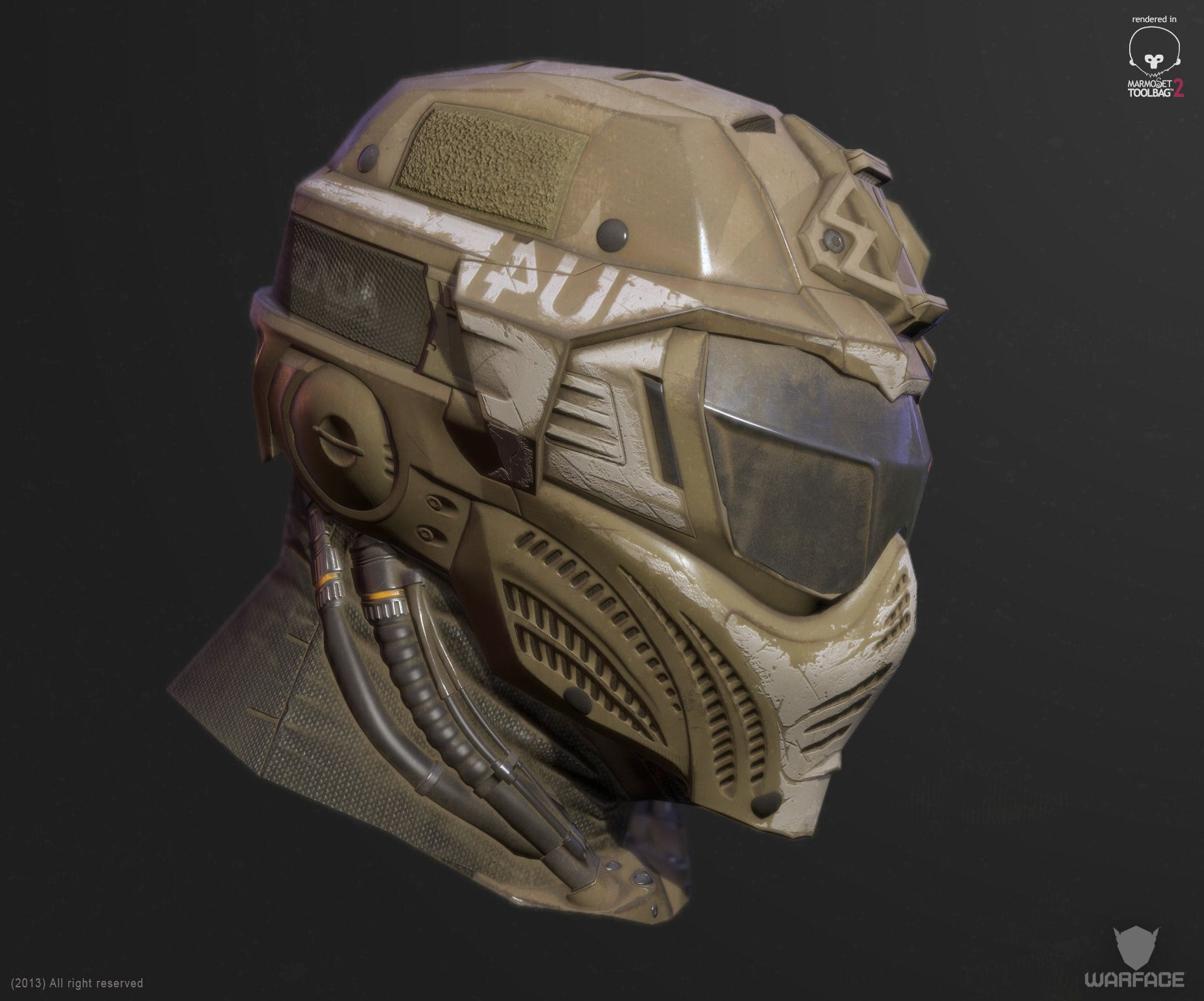 artstation new 3d model for crytek soldier helmet denis didenko helmet pinterest. Black Bedroom Furniture Sets. Home Design Ideas