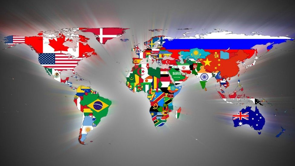 Flags Of 196 Countries In The World 196 Countries Flags Of The