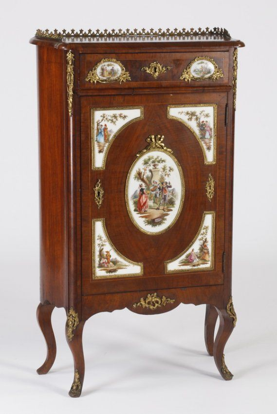 Framed Royal Vienna Porcelain Cabinet Plate On Möbel Möbel Und