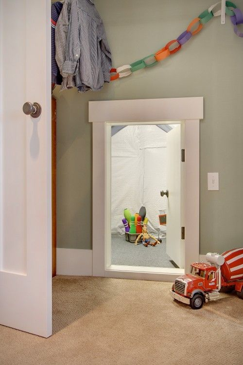 kleine doorgang tussen de kinder slaapkamers - kids | pinterest, Deco ideeën