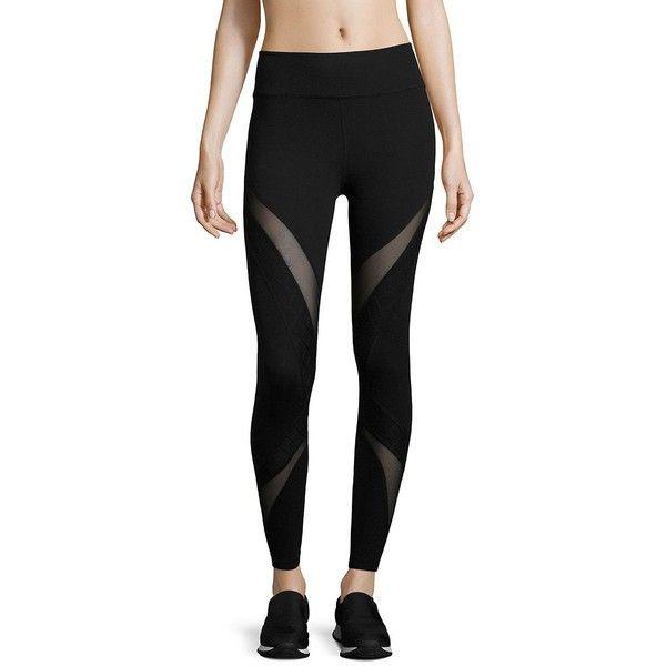 Beyond Yoga Quilt Ahead Midi Leggings ($79) Liked On