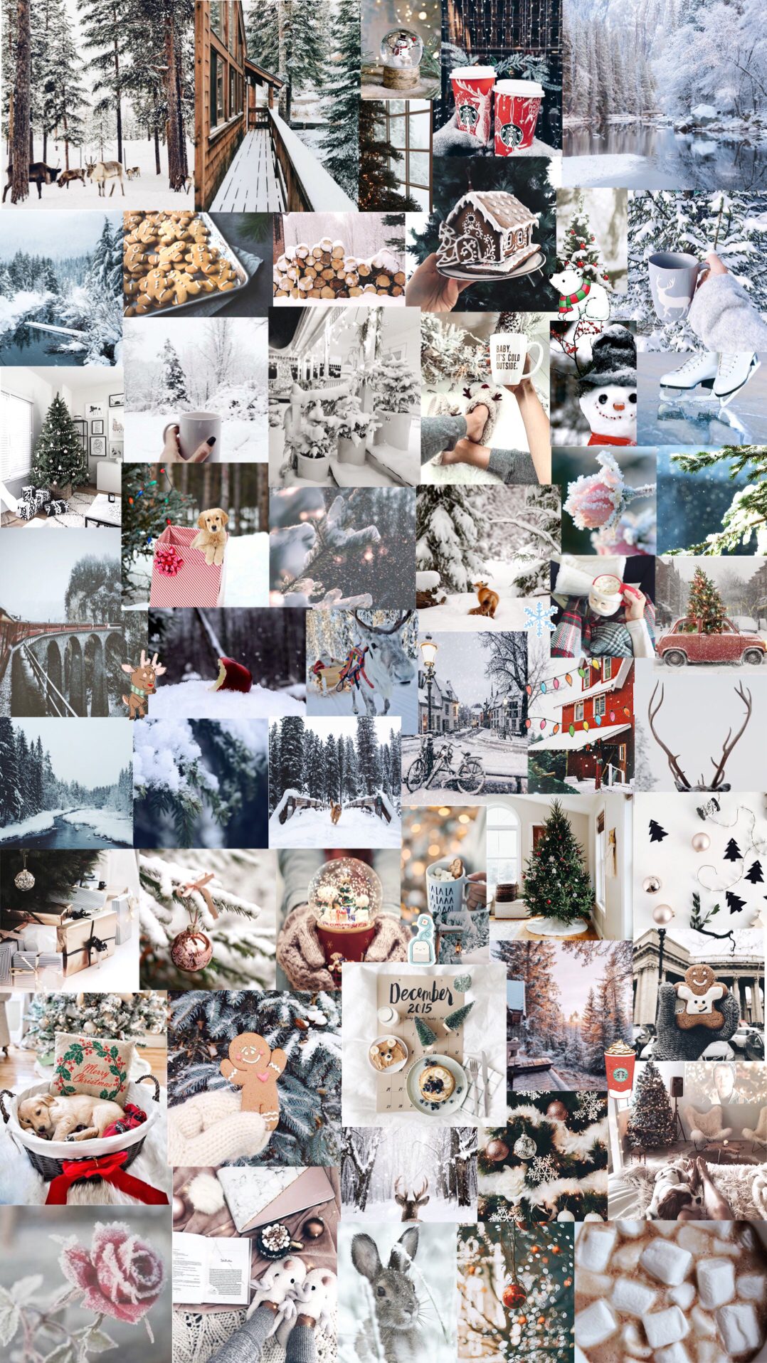 winter aesthetic background Winter wallpaper, Christmas