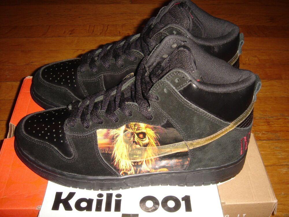 online retailer 29bd9 1772e eBay #Sponsored Nike Dunk High Pro SB Size 9 Iron Maiden ...