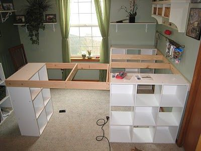Do it yourself white craft desk how to build a custom craft desk do it yourself white craft desk how to build a custom craft desk solutioingenieria Gallery