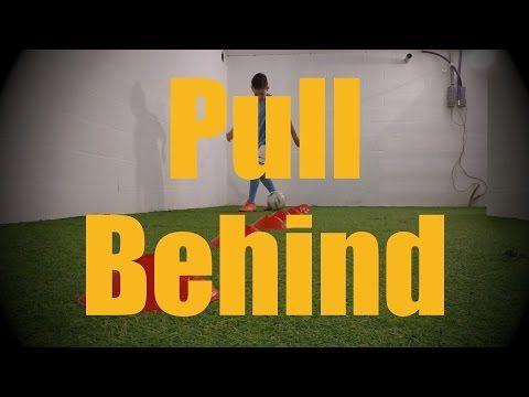 Pull Behind - Cones Dribbling Drills - Soccer (Football) Ball Mastery Training for U12-U13 - YouTube