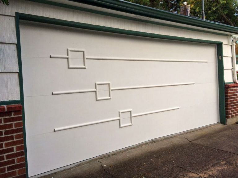 Mid Century Modern Garage Door Design Mid Century Portones Modernos Puertas Fachadas