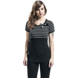 Pussy Deluxe Best Stripe T-Shirt Pussy DeluxePussy Deluxe #ponchodress