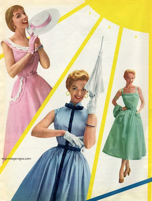 Junior Fashions by Betty Barclay 1954