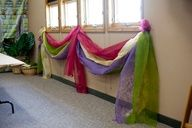 Add some flare to your Kingdom Rock VBS 2013- hallway idea