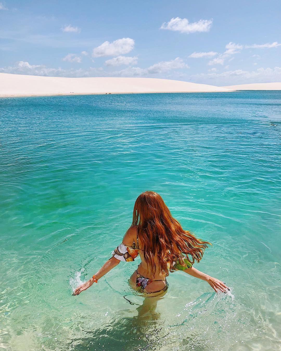 Inspiração Para Foto Sozinha Na Praia Mari Maria Em Santo Amaro Do
