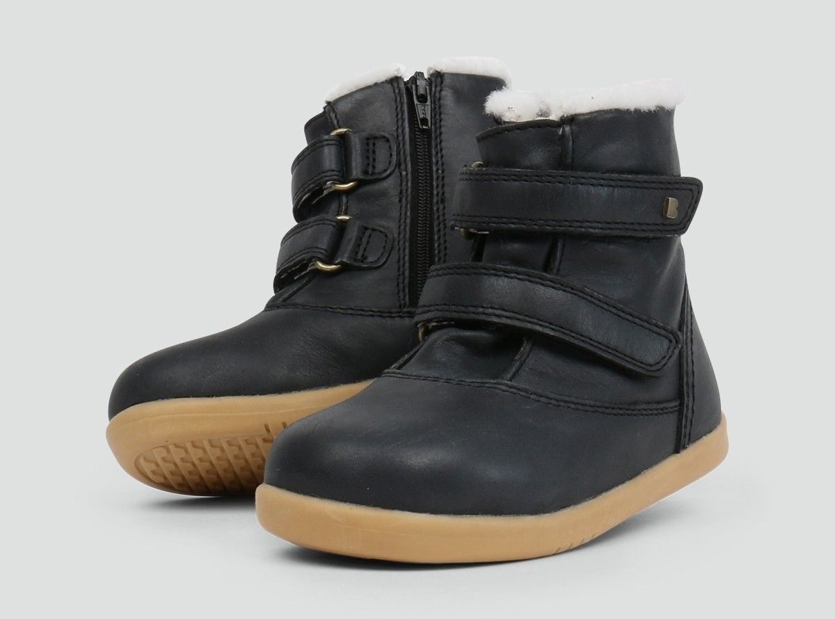 aabee5ba8cc8 Aspen Black Ash Winter Boots Bobux
