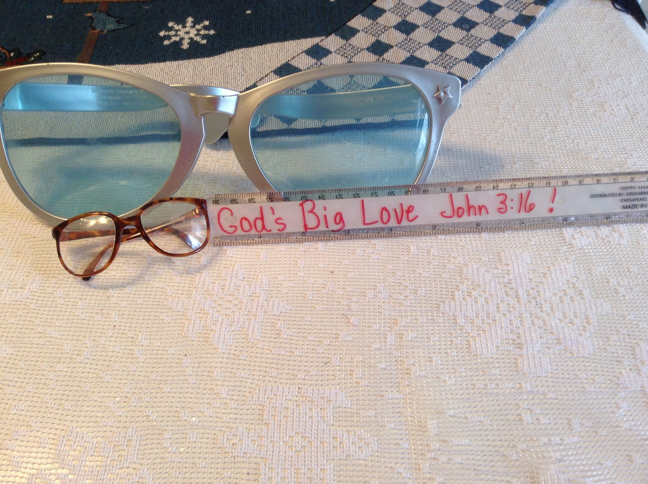 Prop For Children S Church Lesson On John 3 16 God S Big
