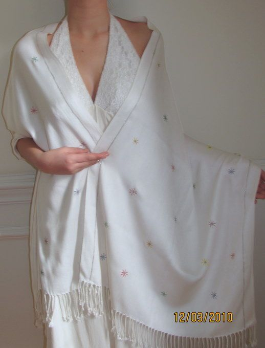 Cashmere Pashmina Bridal Wedding Bridesmaids Shawls Wraps