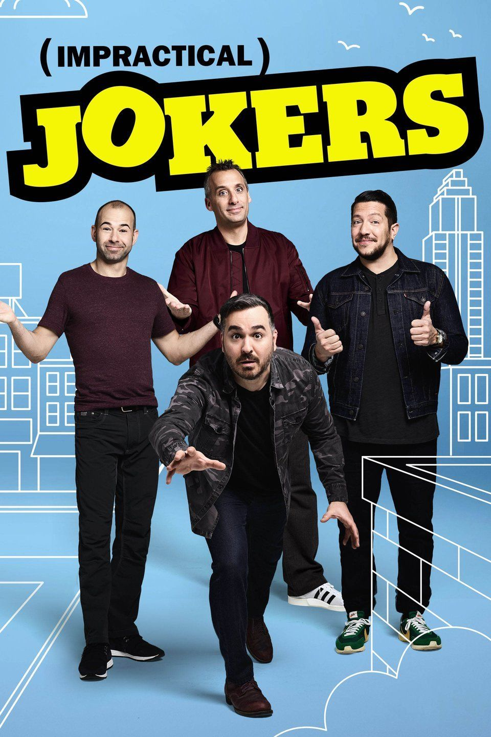 Pin on impractical jokers