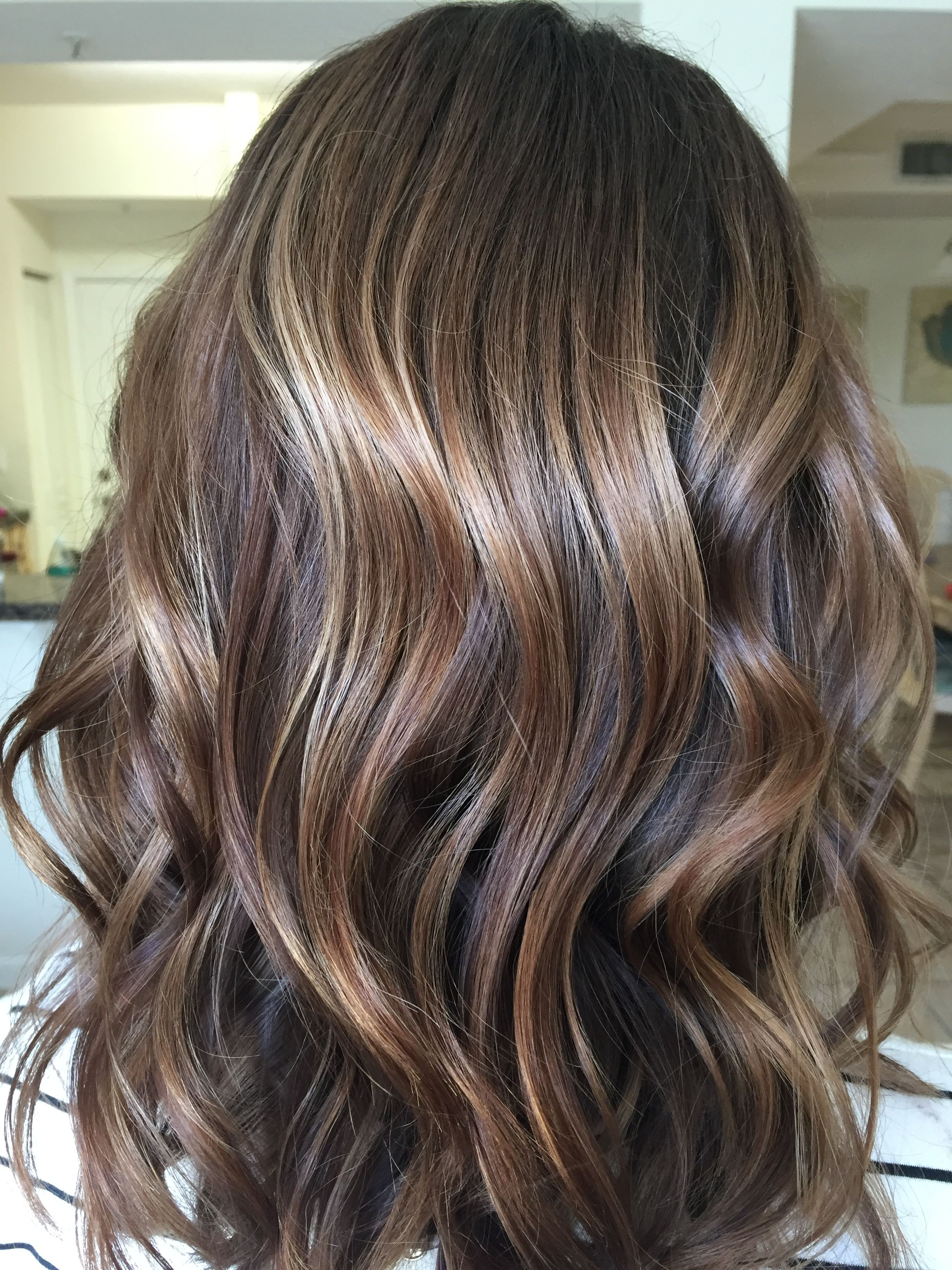 Balayage Colormelt Redkenshadeseq Balayaged With Redken