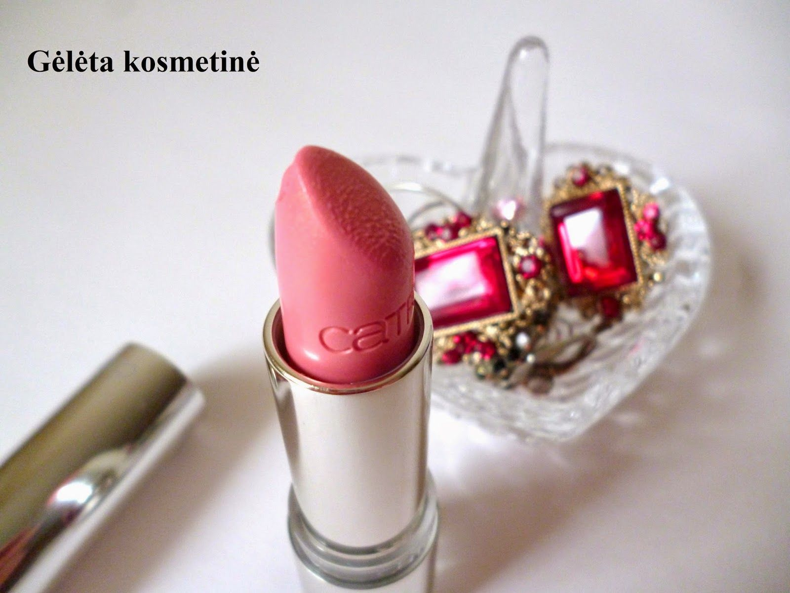 "Gėlėta kosmetinė: CATRICE Ultimate Shine lūpų dažai 250 - Yes, We Can-dy!""  REVIEW. CATRICE Ultimate Shine lipstick 250 - Yes, We Can-dy!"""