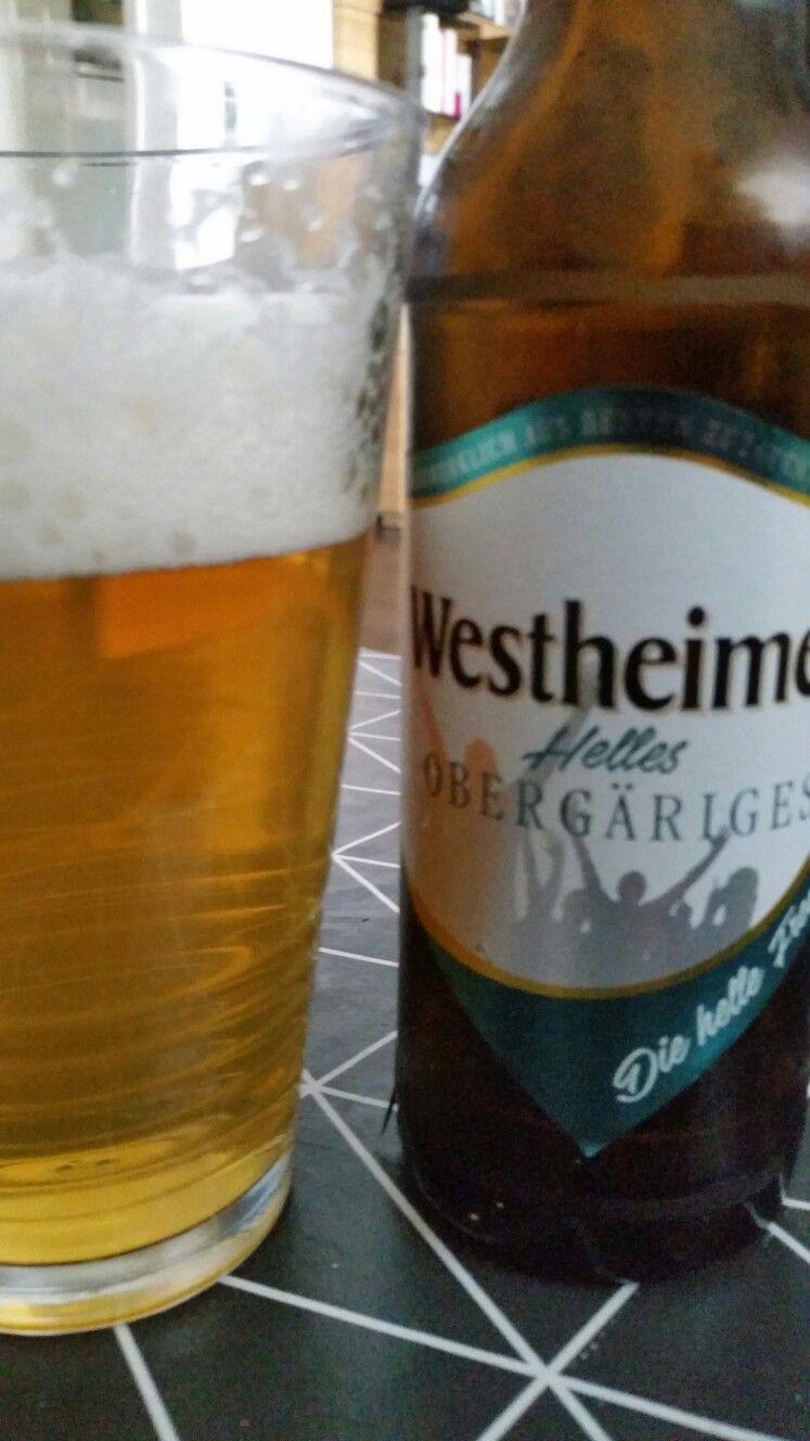 Westheimer helles obergäriges. Marsberg, Northrine-Westfalia, Germany
