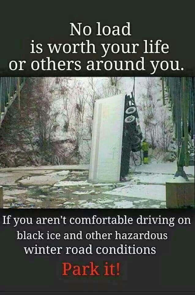 Be smart, be safe.