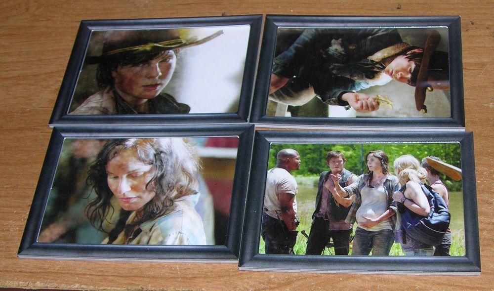 WALKING DEAD SEASON 3 TRADING CARD LOT SHADOWBOX CARDS LORI CARL DARYL T DOG