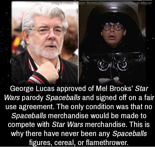 Lucas made more money from Star Wars merchandise then the