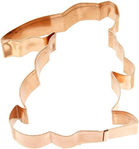 Old River Road Bunny Profile Shape Cookie Cutter, Copper Old River Road http://smile.amazon.com/dp/B00295QE3Q/ref=cm_sw_r_pi_dp_-MDStb0S5YVFBPTY