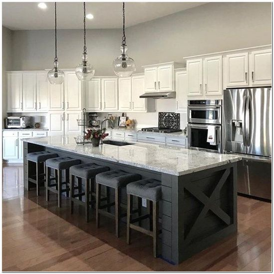 56 Incredible Rustic Kitchen Ideas Photos: Incredible Kitchen Island Designs
