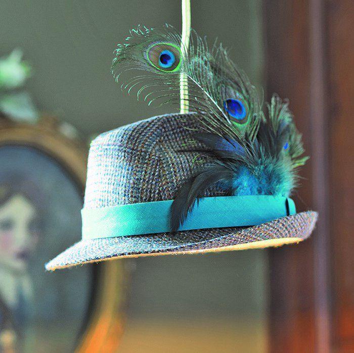 fabriquer un lustre avec un chapeau makeable la luz. Black Bedroom Furniture Sets. Home Design Ideas