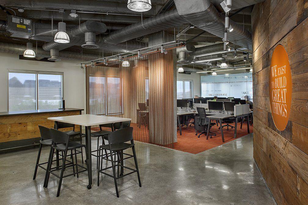 Office Tour Dpr Construction Offices Dallas With Images Office Design Design Dental Office Design