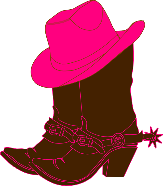 cowgirl clip art free cowgirl boots clip art cowboys cowgirls rh pinterest com
