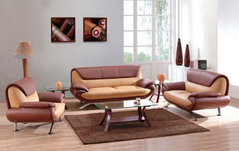 Cheerful Sofa Color Living Room Design Ideas With Glass Table And Brown Crea Unique Living Room Furniture Furniture Placement Living Room Diy Living Room Decor