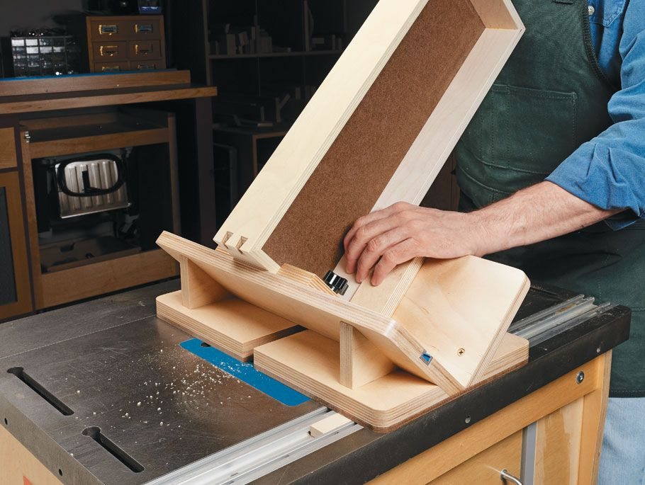 Router Table Dovetail Key Jig   Woodworking Project ...