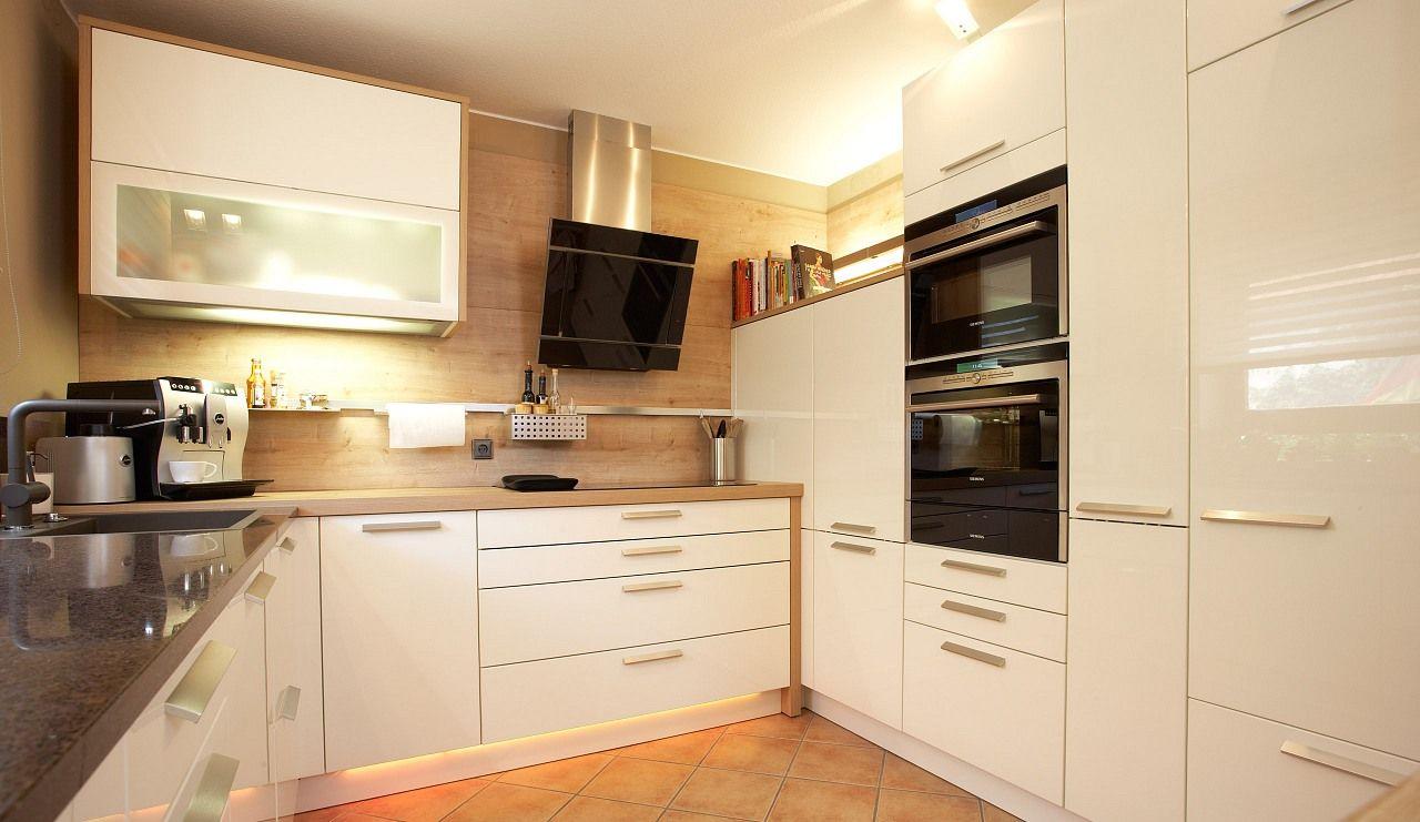 Einbauküche Diamant-Weiss | Interior Design | Einbauküche, Küche und ...