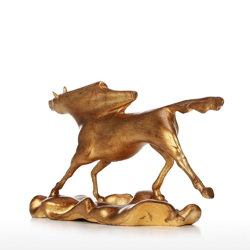 Horse Horseracing Horserider Jockey Horseriding Sculpture Homedecor Decor